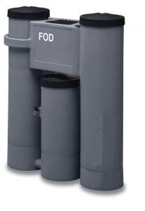 FOD 21-1440 Olie-waterafscheiders