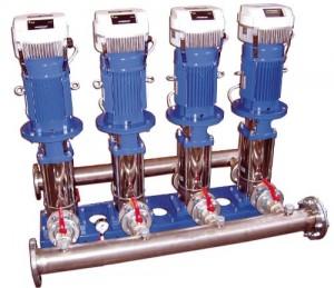 GHV Hydrovar geregelde drukverhoginginstallatie