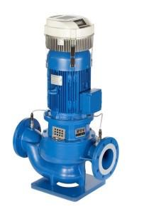 e-LNE Gietijzeren in-line centrifugaalpompen